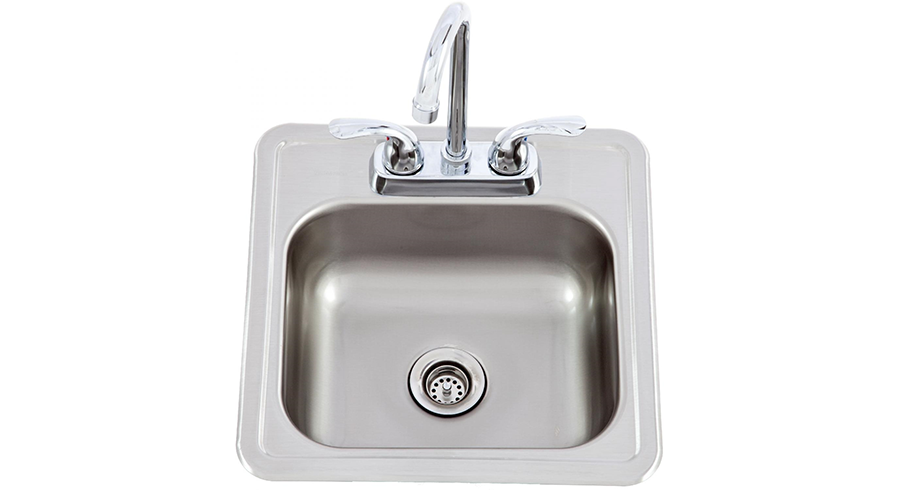 Sink & Faucet: Stainless Steel: Small , BBQ Components ,  europe, Bull europe limited, bull bbq europe