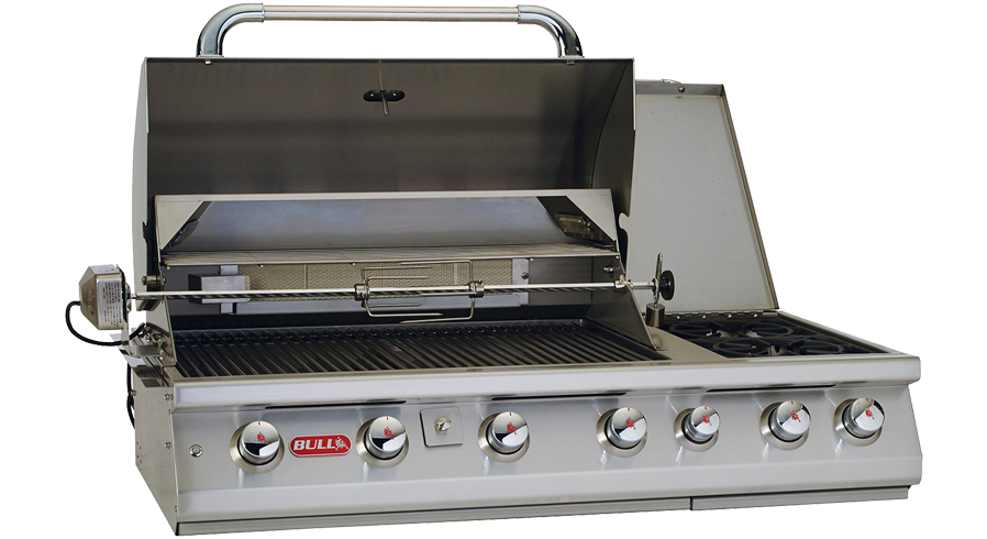 Bull 7 Burner Built-In Gas Barbecue , Built-In BBQ's ,  europe, Bull europe limited, bull bbq europe