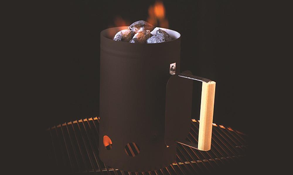 Black Chimney Starter , BBQ Accessories,  europe, Bull europe limited, bull bbq europe