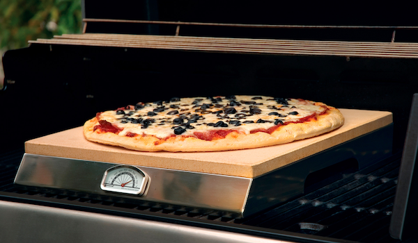 Square Pizza Stone / 38cm , Pizza On The Grill, Pizza Ovens europe, Bull europe limited, bull bbq europe