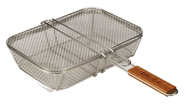Stainless Wire Mesh Shaker Basket with Lid , BBQ Accessories,  europe, Bull europe limited, bull bbq europe