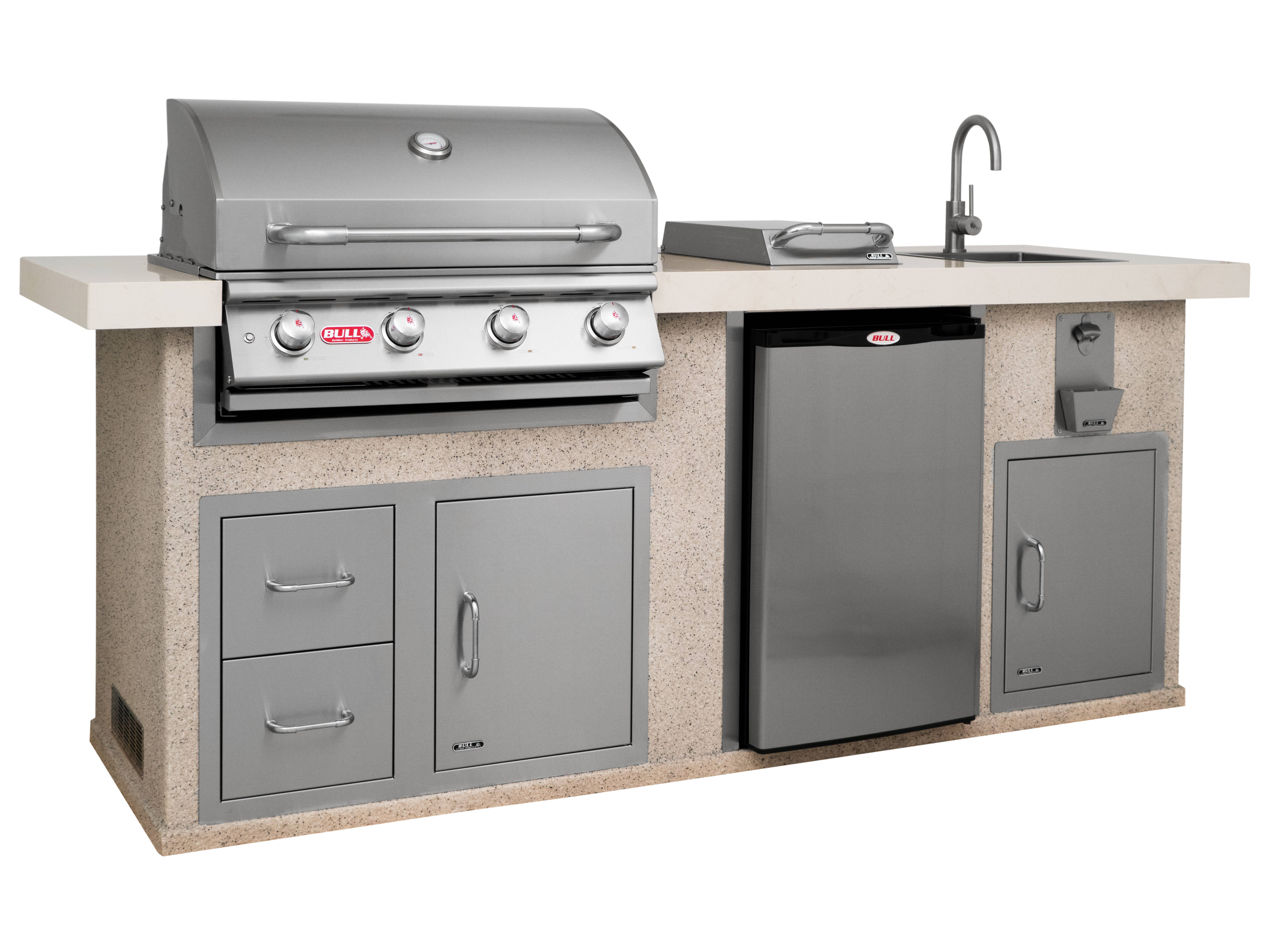 Bull Outdoor Kitchen Island , Outdoor Kitchens,  europe, Bull europe limited, bull bbq europe