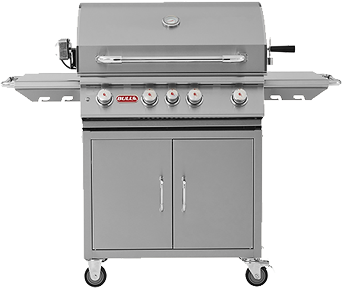 Bull Angus 4 Burner Gas Barbecue Cart , BBQ Carts,  europe, Bull europe limited, bull bbq europe
