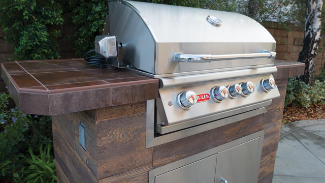 Bull Angus Built-In 4 Burner Gas Barbecue  , Built-In BBQ's ,  europe, Bull europe limited, bull bbq europe