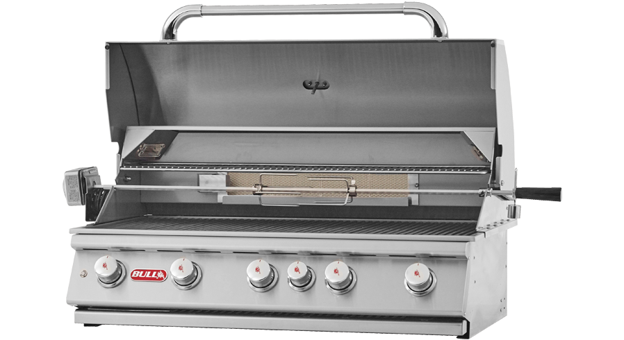 Bull Brahma Built-In 5 Burner Gas Barbecue , Built-In BBQ's ,  europe, Bull europe limited, bull bbq europe