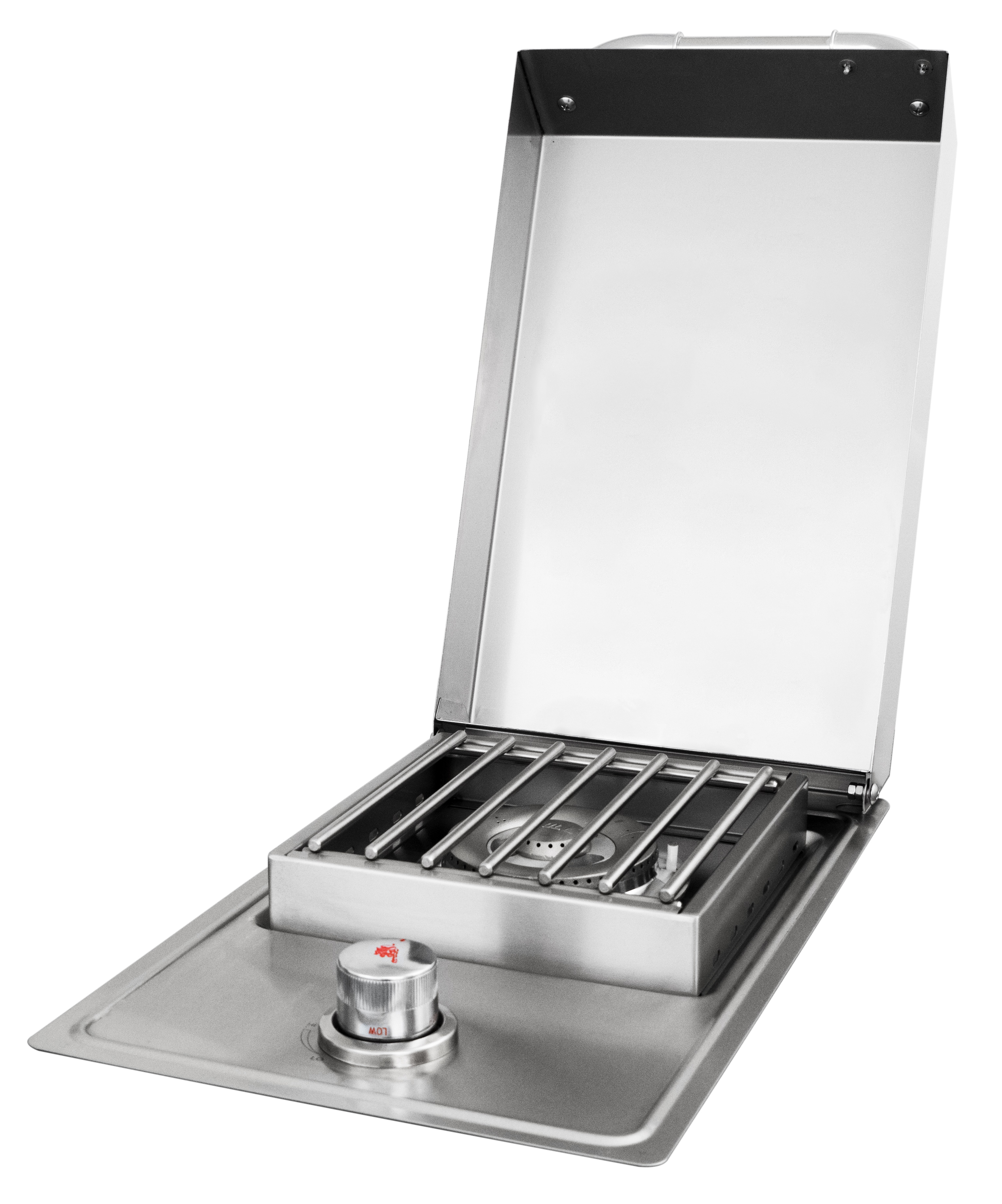 Drop-In Stainless Steel Side Burner , BBQ Components ,  europe, Bull europe limited, bull bbq europe