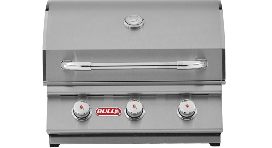 Bull Steer Built-In 3 Burner Gas Barbecue                      , Built-In BBQ's ,  europe, Bull europe limited, bull bbq europe
