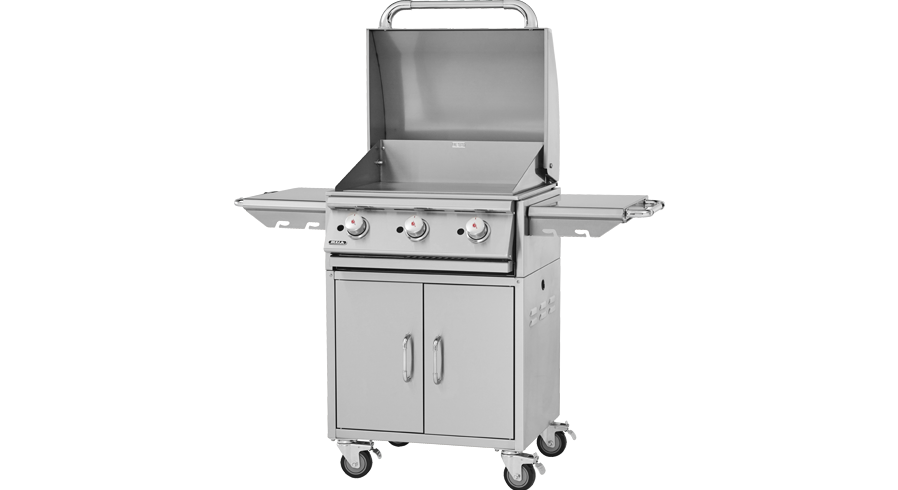 Bull Plancha Commercial Griddle Gas Barbecue Cart , BBQ Carts,  europe, Bull europe limited, bull bbq europe