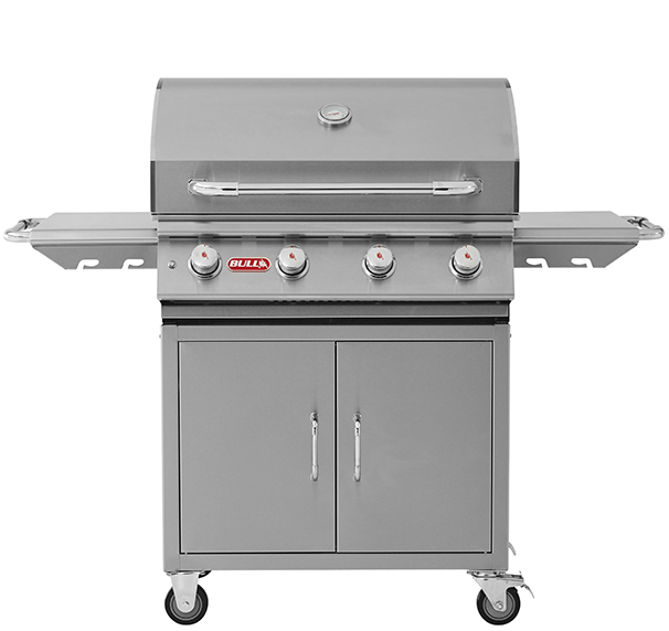 Bull Lonestar 4 Burner Gas Barbecue Cart , BBQ Carts,  europe, Bull europe limited, bull bbq europe